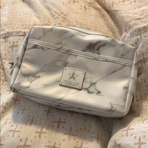 Jeffree Star White Marble Makeup Bag